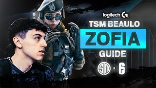 Rainbow Six Siege: THE COMPLETE ZOFIA GUIDE BY @Beaulo! | Best R6 Pro Tips (TSM R6S Montage)