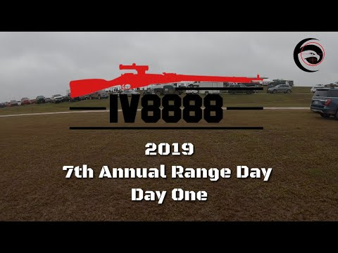 IV8888 Annual Range Day 2019 | Day One