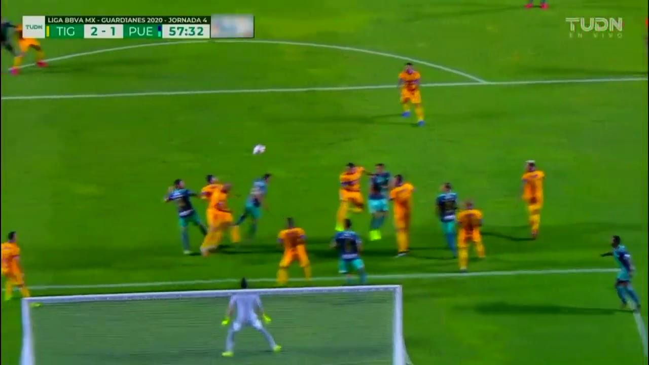 Gol de S. Ormeño | Tigres 2 - 1 Puebla | Liga BBVA MX - Guardianes 2020 - Jornada 4
