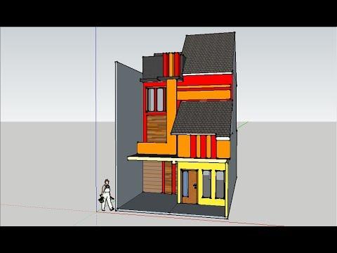 Tutorial Membuat Desain Rumah Minimalis Sederhana Lantai 2 Part 5