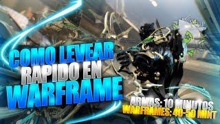 Warframe - Como levear rápido | donde levear en Warframe | ...