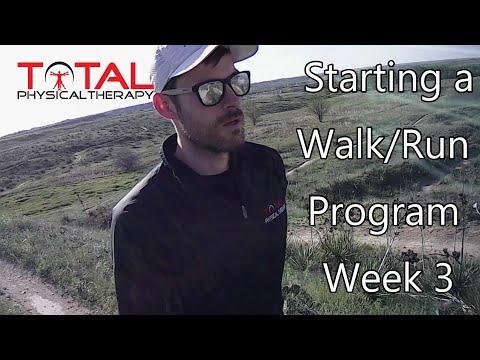 Starting a Walk/Run Program Week 3