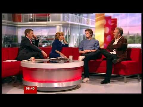 Bradley James & Anthony Head on BBC Breakfast