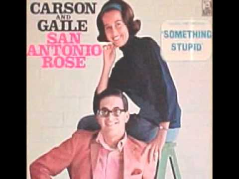"the original ""Something Stupid""  Carson & Gaile"