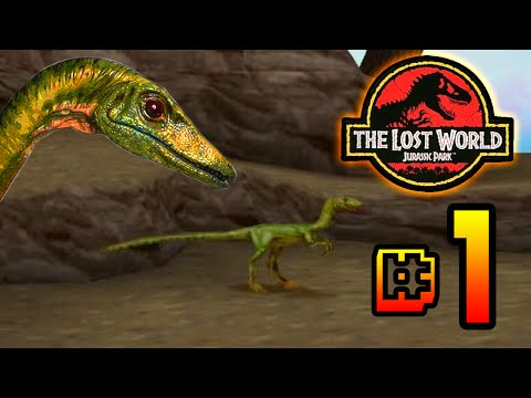 Run Compy Run!!!! The Lost World Jurassic Park (PS1) Ep 1 [ Jurassic Park Month ]