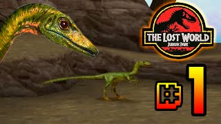 Run Compy Run!!!! The Lost World Jurassic Park (PS1) Ep 1 [ Jurassic Park Month ]