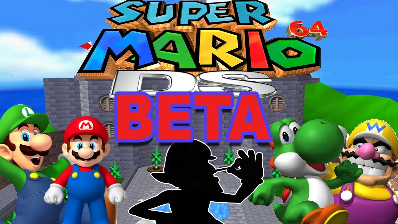 Super Mario 64 Ds Beta Game Speculation Youtube