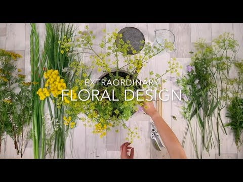 Extraordinary floral design starts with… a good base | Flower Factor's online education program