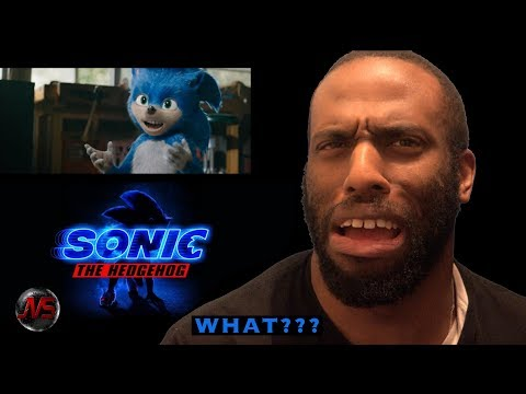 REACTION to Sonic The Hedgehog (2019) - Official Trailer #SonicTheHedgehog