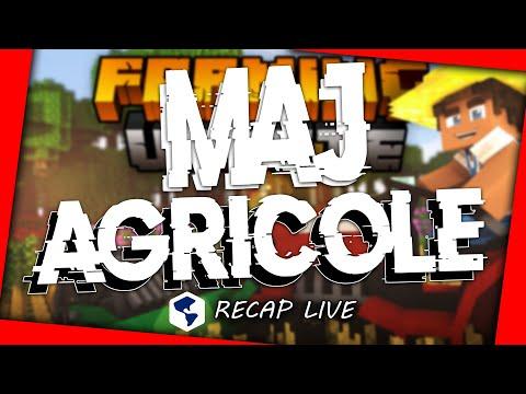 🎬 Récap LIVE MàJ Agricole ! | NationsGlory Journal Orange 📳