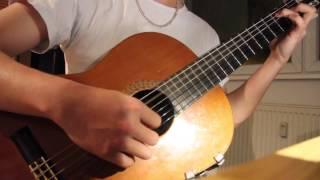 (Hàn Ngọc Bích) Đưa cơm cho mẹ đi cày - guitar solo by Hungguitar9x
