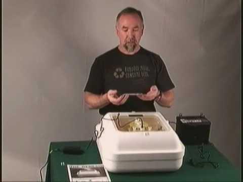 Chicken Egg Hatching Incubator Hova Bator Genesis Model 1588 Gqf