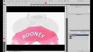 Tutorial #7 Как сделать из картинки рисунок карандашом в Adobe Photoshop CS4