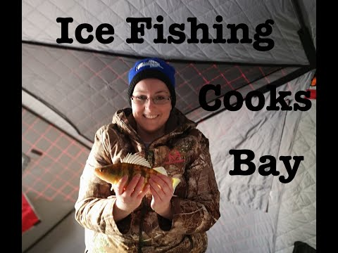 Ice Fishing Cooks Bay 2020! Finally Getting Out There! #JumboPerch