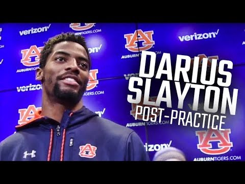 Auburn's Darius Slayton Talks Wide Receiver Workouts