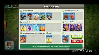 GUARANTEE  TH 12 CLASH OF CLANS ★QUEEN WALK★ WAR ATTACK STRATEGY