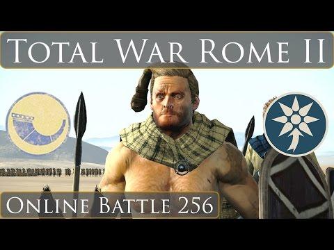 Total War Rome 2 Online Battle Video 256 Nervii vs Pontus