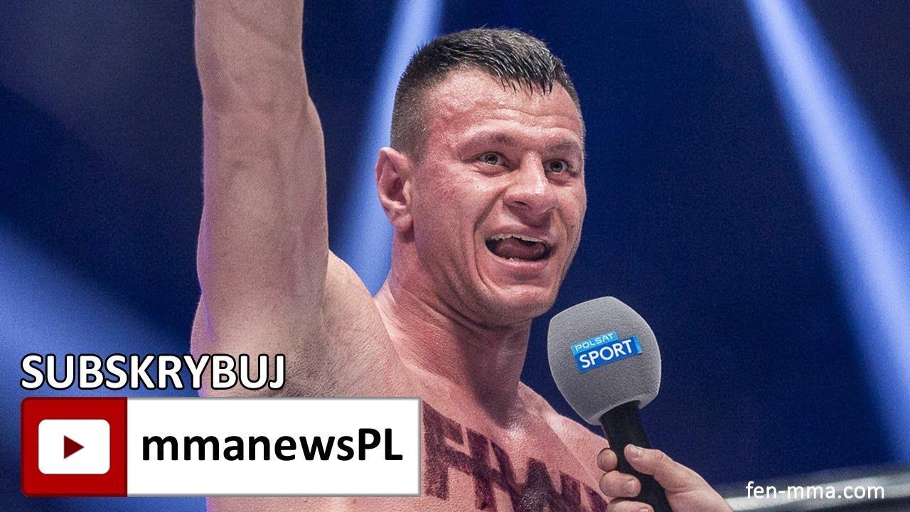 """Arkadiusz Wrzosek po obronie pasa FEN 20: """"Myślałem, że znokautuję Bizewskiego w 1 rundzie."""""""