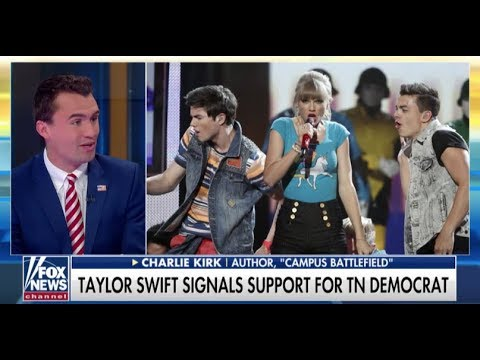 Charlie Kirk Thinks Celebs Like Taylor Swift Should Stay Out Of Politics