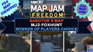 Far Cry Map Jam 2 Freedom Winner MJ2-Foxhunt By Sabotur for Players Choice