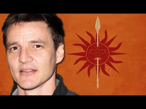Pedro Pascal Is The Red Viper - Game Of Thrones Season 4 Preview