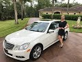 SOLD 2011 Mercedes Benz E550, 15K Miles, for sale by Autohaus of Naples, 239-263-8500