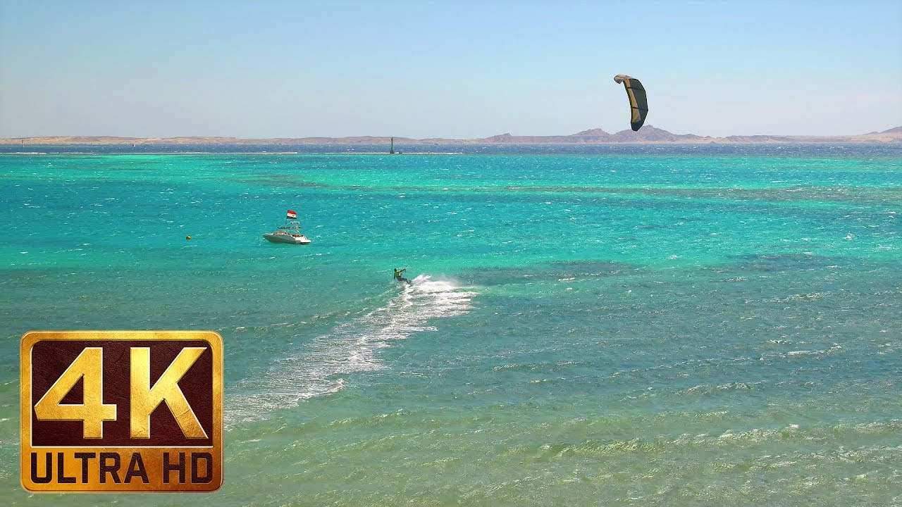Journey to Egypt - 4K Nature Documentary Film with the Red Sea Views and Soothing Music