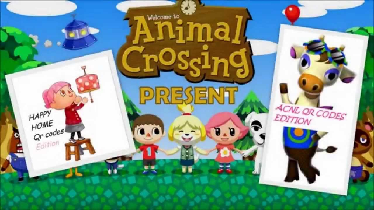 animal crossing happy home designer - new website - qr codes - youtube