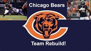 Rebuilding the Chicago Bears! Khalil Mack is UNSTOPPABLE! Madden 19 Franchise mode