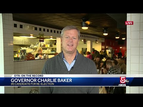 On the Record: Conversation with Gov. Charlie Baker