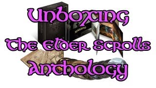 "Unboxing de ""The Elder Scrolls: Anthology"""
