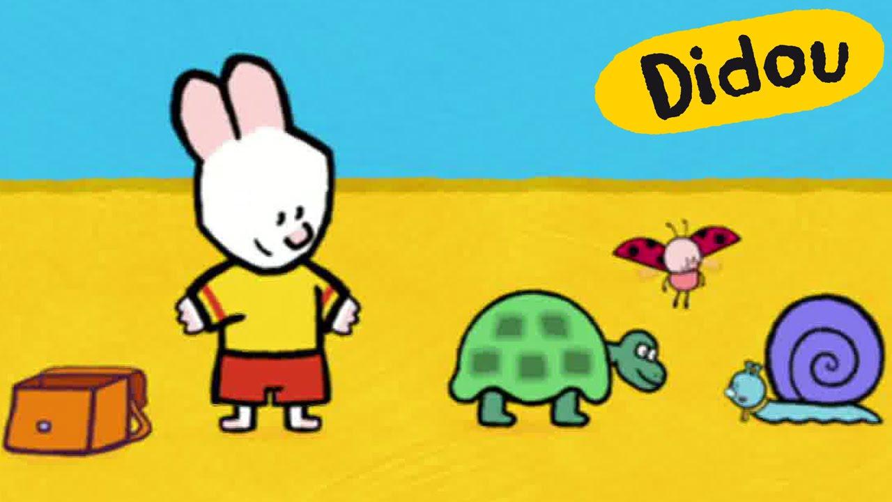 Tortue didou dessine moi une tortue dessins anim s pour les enfants youtube - Dessin d une tortue ...