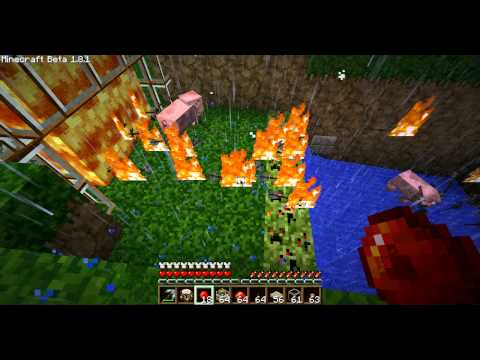 how to: flaming arow automatic arrow dispenser minecraft