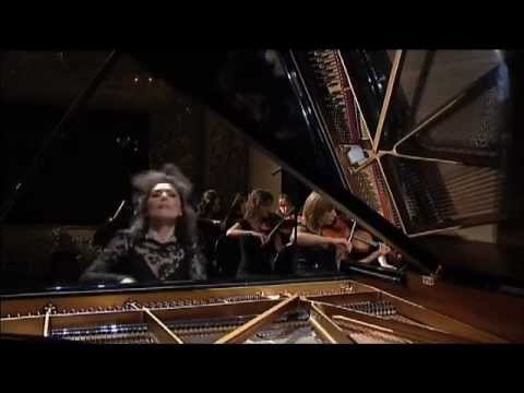 Elisso Bolkvadze plays Saint-Saens piano concerto no 2 part 1