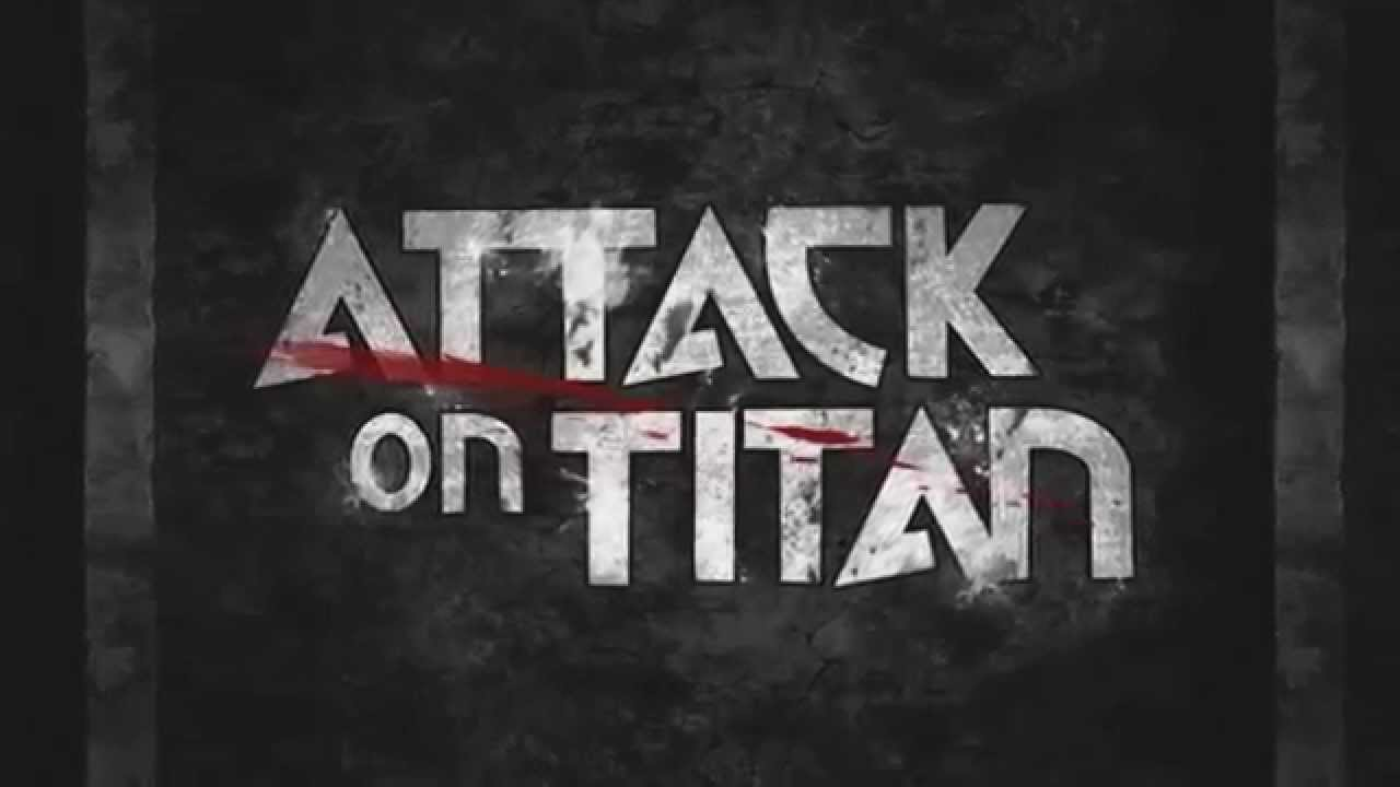 Type in Motion Project - Attack on Titan opening title ...