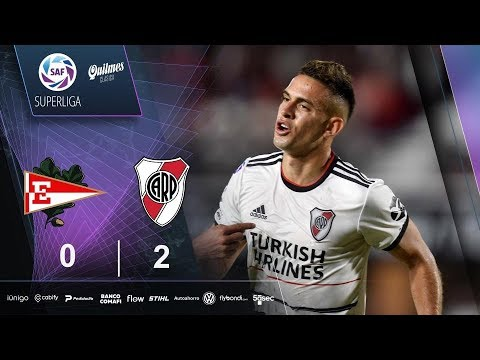Estudiantes L.P. Atletico River Plate Goals And Highlights