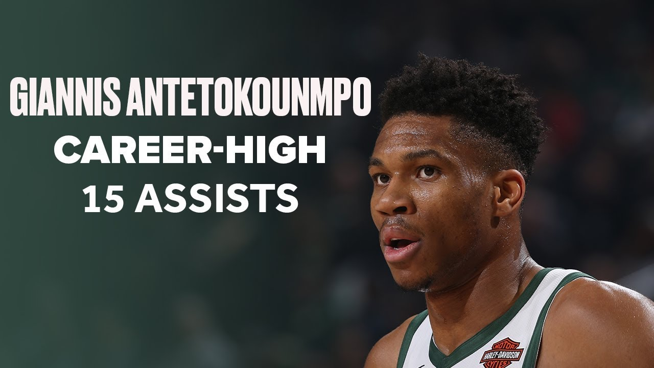 Giannis Antetokounmpo Drops Career-High 15 Assists and Monster Triple-Double Against Portland