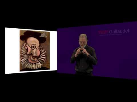 Reading Written Language Is One Form Of Reading The World | Marlon Kuntze | TEDxGallaudet