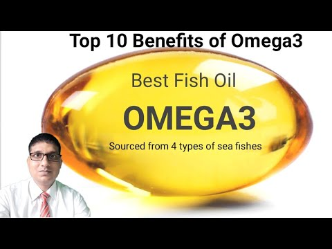 Omega 3 Best Fish Oil-top Ten Health Benefits In Hindi|Salmon Omega3|Omega3 Good For Heart Health|BP