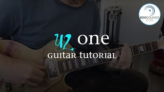 Edosounds - U2 One (guitar cover + tutorial)