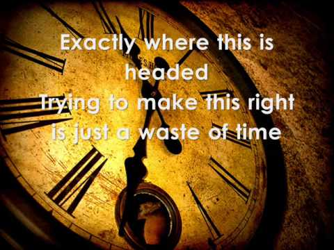 Paradise Fears - Waste Of Time Lyrics