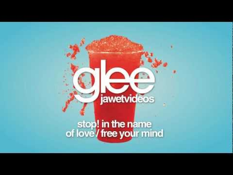 Glee Cast - Stop! In The Name of Love/Free Your Mind (karaoke version) [INCOMPLETE VERSION]