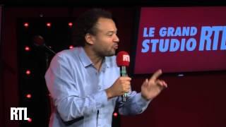 Fabrice Eboué dans le Grand Studio Humour de Laurent Boyer sur RTL.