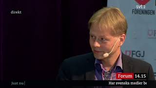 Janne Josefsson: Beröringsskräck