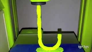 3D Printing A Candy Cane_Cubify Timelapse