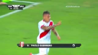 Perú 2-1 Uruguay - Gol de Paolo Guerrero - Emotiva narración chilena