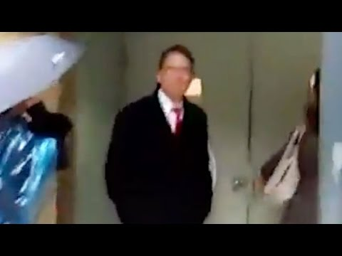 Homophobic Governor Can't Escape Protesters (VIDEO)