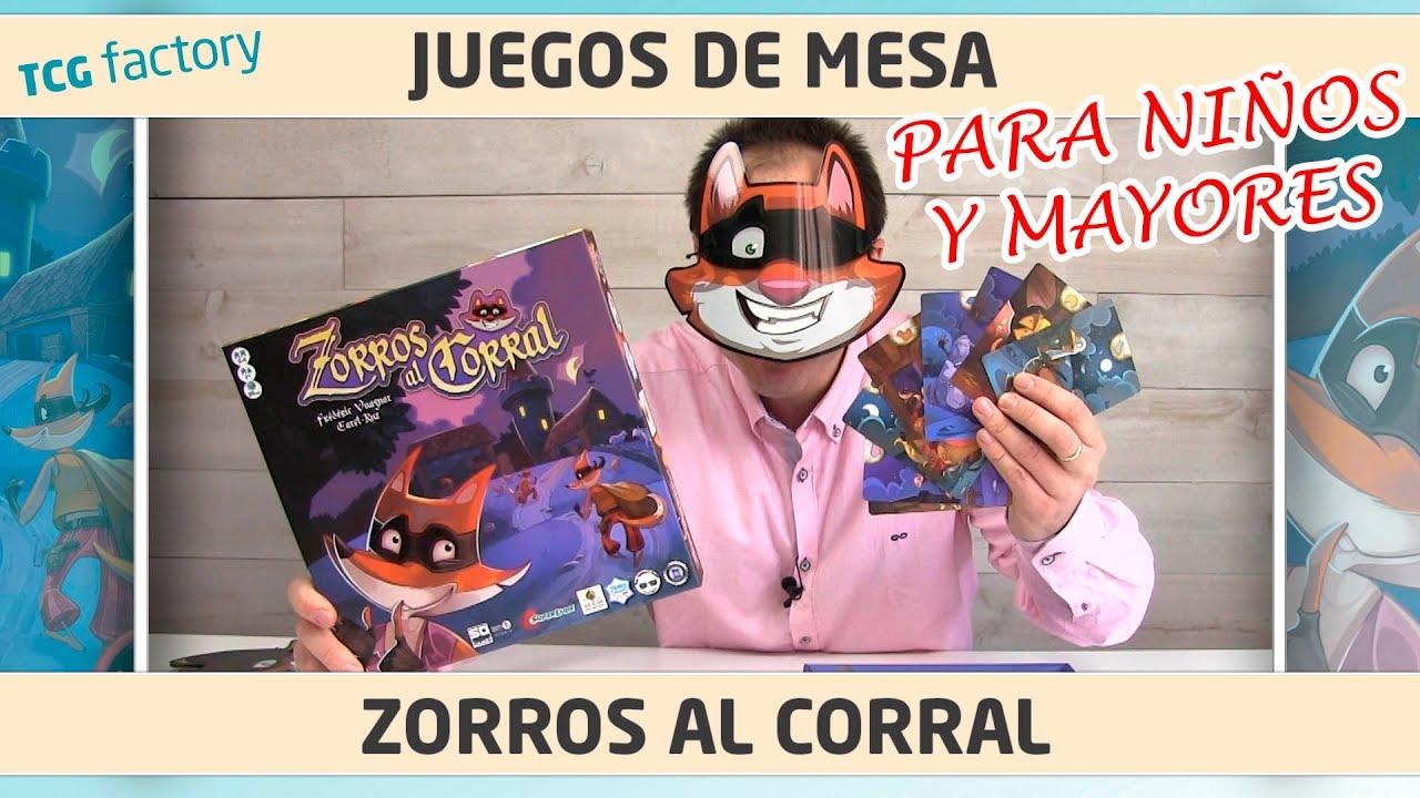 Zorros Al Corral Juego De Mesa Para Ninos Sd Games Youtube