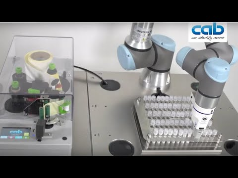AXON 1- Labelling Of Tubes In Medical Industries