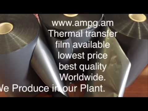 Thermal Transfer Film by AMPG GROUP Best Quality Lowest prices Worldwide